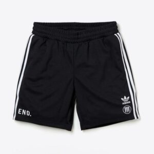 Neighborhood x END x adidas Team Shorts Black