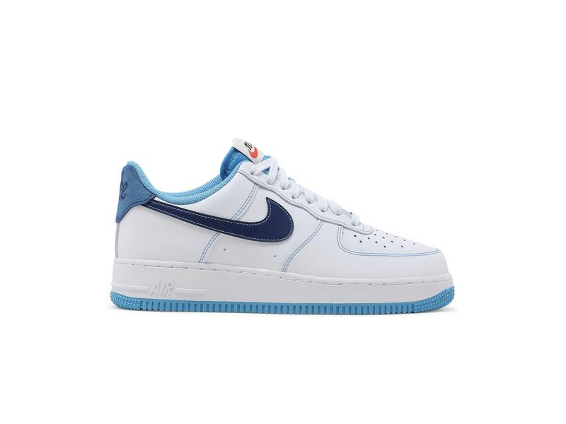 Nike Air Force 1 07 First Use White University Blue