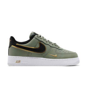 Nike Air Force 1 07 LV8 Metallic Swoosh Pack Oil Green