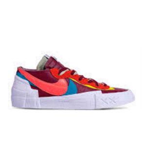 Nike Blazer Low sacai KAWS Red 1