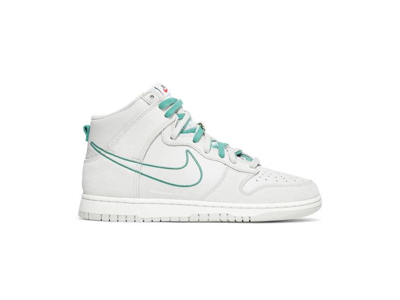 Nike Dunk High SE GS First Use Pack Green Noise