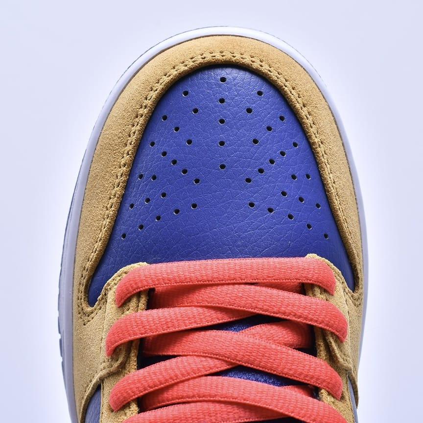 Nike Dunk Low SB Wheat Dark Purple 11
