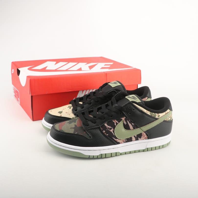 Nike Dunk Low SE Black Multi Camo 1