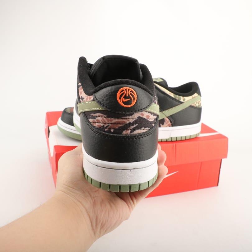 Nike Dunk Low SE Black Multi Camo 5
