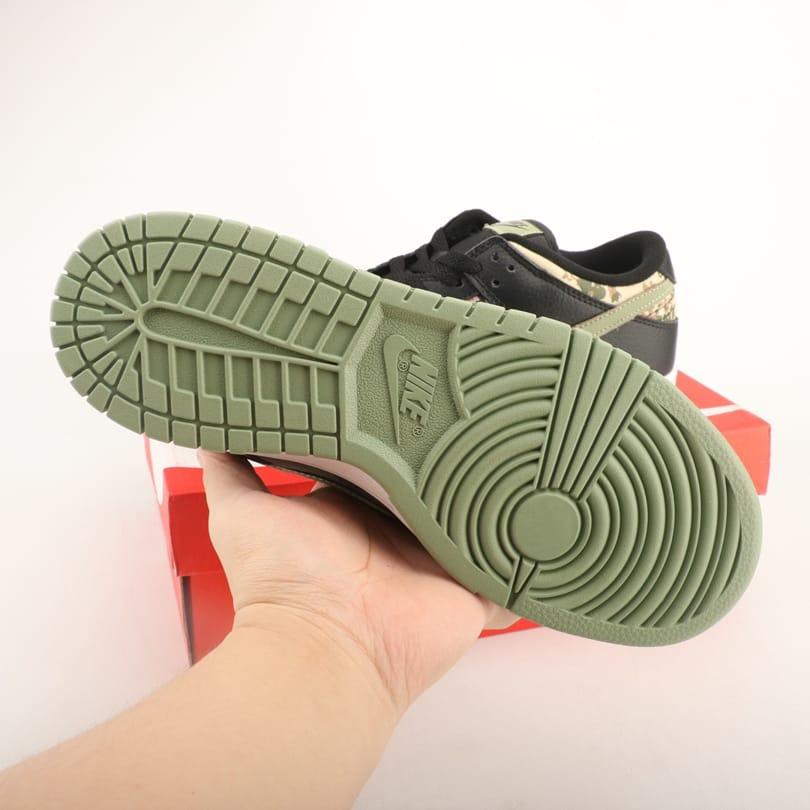 Nike Dunk Low SE Black Multi Camo 6
