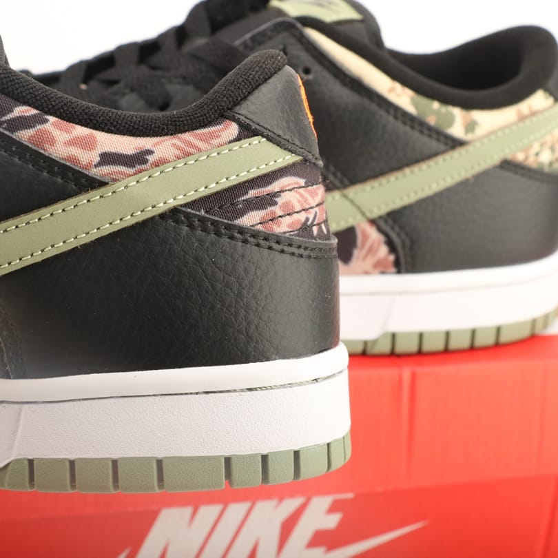 Nike Dunk Low SE Black Multi Camo 7