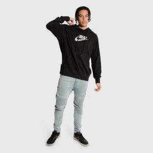 Nike Giannis Antetokounmpo Freak Logo Hoodie Black 1
