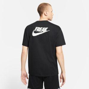 Nike Giannis Antetokounmpo Freak Swoosh Logo T Shirt 1