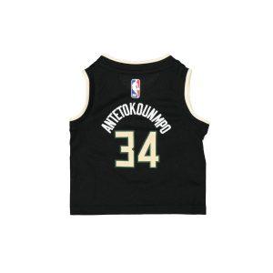 Nike Giannis Antetokounmpo Milwaukee Bucks 2021 Statement Edition Infant NBA Jersey 1