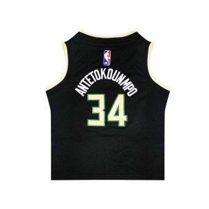 Nike Giannis Antetokounmpo Milwaukee Bucks 2021 Statement Edition Toddler NBA Jersey 1