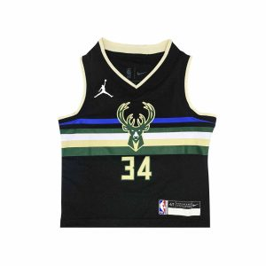 Nike Giannis Antetokounmpo Milwaukee Bucks 2021 Statement Edition Toddler NBA Jersey