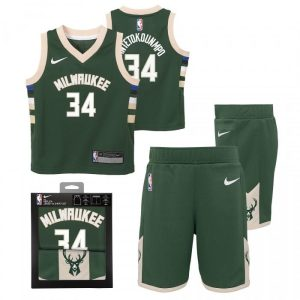 Nike Giannis Antetokounmpo Milwaukee Bucks Icon Edition Boys NBA Box Set