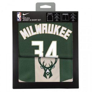 Nike Giannis Antetokounmpo Milwaukee Bucks Icon Edition Toddler NBA Box Set