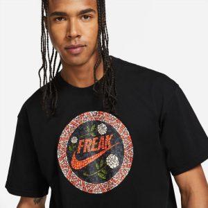 Nike Giannis Antetokounmpo Swoosh Freak Mosaic NBA T Shirt 1