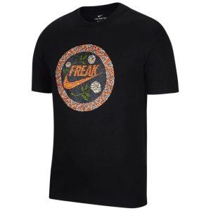 Nike Giannis Antetokounmpo Swoosh Freak Mosaic NBA T Shirt