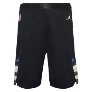 Nike Milwaukee Bucks 2021 Statement Edition Swingman Youth NBA Shorts 1