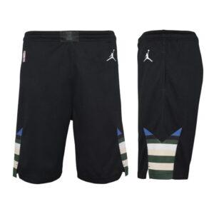 Nike Milwaukee Bucks 2021 Statement Edition Swingman Youth NBA Shorts