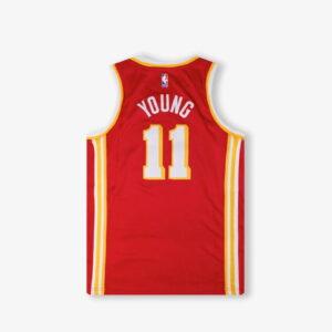 Nike Trae Young Atlanta Hawks 2021 Icon Edition Youth NBA Swingman Jersey 1