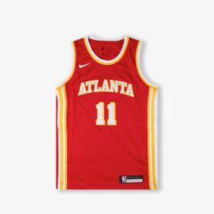 Nike Trae Young Atlanta Hawks 2021 Icon Edition Youth NBA Swingman Jersey