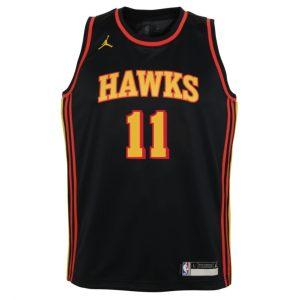 Nike Trae Young Atlanta Hawks 2021 Statement Edition Youth NBA Swingman Jersey 1