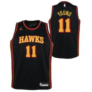 Nike Trae Young Atlanta Hawks 2021 Statement Edition Youth NBA Swingman Jersey