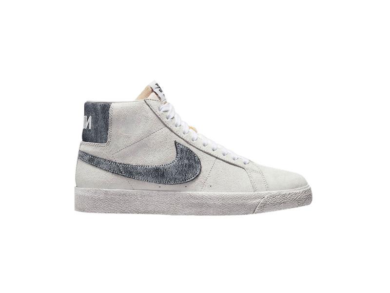 Nike Zoom Blazer Mid Premium SB Faded Pack Grey Fog Black