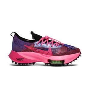 Off White x Nike Air Zoom Tempo Next Pink Glow