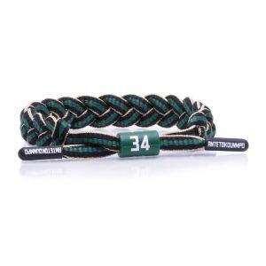 Rastaclat Giannis Antetokounmpo Milwaukee Bucks Rastaclat NBA Bracelet 1