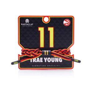 Rastaclat Trae Young Atlanta Hawks Rastaclat NBA Bracelet