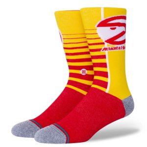 Stance Atlanta Hawks Gradient Hardwood Classics Stance NBA Socks