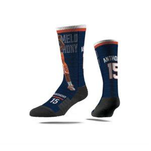 Strideline Carmelo Anthony Syracuse Orange NCAA Premium Full Sub Socks 1