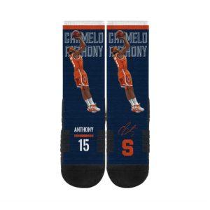Strideline Carmelo Anthony Syracuse Orange NCAA Premium Full Sub Socks