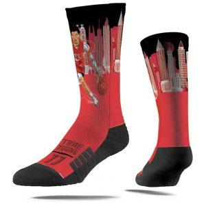 Strideline Trae Young Atlanta Hawks Super Hero Premium Full Sub Socks