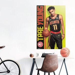 Trends Trae Young Atlanta Hawks NBA Wall Poster 1