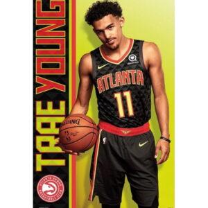 Trends Trae Young Atlanta Hawks NBA Wall Poster