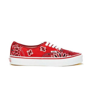 Vans Vault OG Authentic LX Bedwin the Heartbreakers Red Paisley