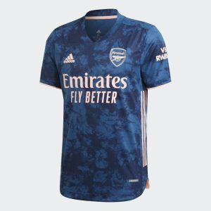 adidas Arsenal 2021 Authentic Third Shirt Jersey Blue