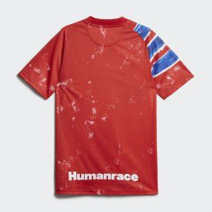 adidas FC Bayern Human Race Jersey True RedWhite 1