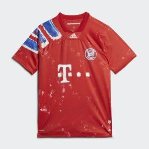 adidas FC Bayern Human Race Jersey True RedWhite