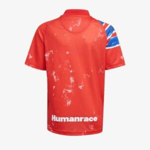 adidas FC Bayern Human Race Kids Jersey True RedWhite 1