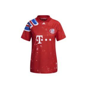 adidas FC Bayern Human Race Womens Jersey True RedWhite