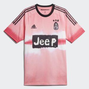 adidas Juventus Human Race Jersey Glow PinkBlack