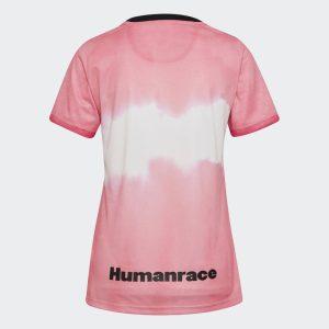 adidas Juventus Human Race Womens Jersey Glow PinkBlack 1