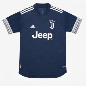adidas Juventus Maglia Gara Away Authentic 202021 Jersey Blue