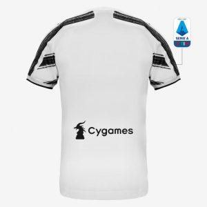 adidas Juventus Maglia Gara Home Authentic 202021 Jersey White 1