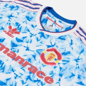 adidas Manchester United Human Race Jersey WhiteBold Blue 1