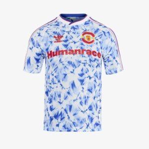 adidas Manchester United Human Race Kids Jersey WhiteBold Blue 1.1