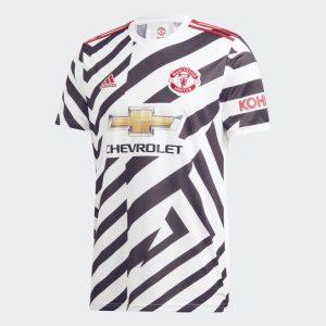 adidas Manchester United Third Shirt 2020 21 Jersey White