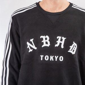 adidas Neighborhood Crewneck Sweatshirt Black 1