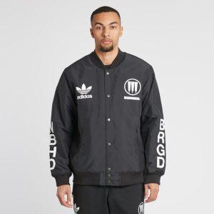 adidas Neighborhood Stadium Jacket Black